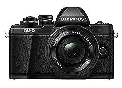 Olympus Om-d E-m10 Mark Ii Compact System Camera In Black + 14-42 Ez Lens