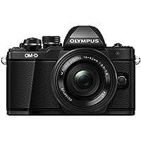 "Olympus E-M10 Mark-II - Cámara Evil de 16.1 MP (Pantalla 3"", estabilizador óptico, vídeo Full HD, WiFi) Negro - Kit cámara con Objetivo 14-42mm EZ Zoom"
