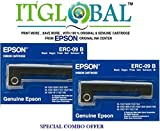 #2: Epson ERC-09(B) POSC [Pack of 2] Original Ribbon Cassette--Special ITGLOBAL Combo With Scratch & Win Reward Offer - From ITGLOBAL