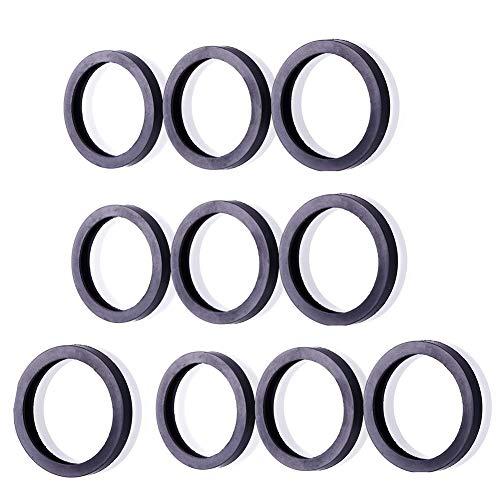 10 Gas Spout Gaskets Rubber Fuel Can Spout Seals for Universal Plastic 5 Gal 10 20L Fuel Tank Spout