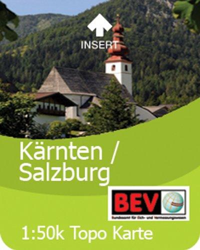 Preisvergleich Produktbild Satmap GPS System Karte 1:50000 Österreich: Salzburg/Kärnten/Osttirol