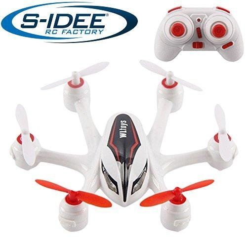 s-idee® 01640 Hexacopter S272 Drohne mit Headless Funktion 360° Flip Funktion, 2.4 GHz, 4-Kanal, 6-AXIS Stabilization System Nano Drone
