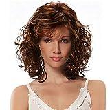 Frauen Kurze Lockige Haare Perücken Hochwertige Natürliche Synthetische Hitzebeständig Haar Perücke