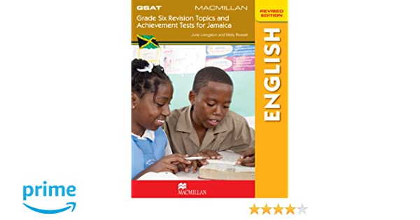 Grade Six Achievement Tests For Jamaica GSAT English