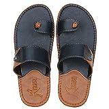 Kraasa Slide SL5137 Slippers NavyTan UK 10