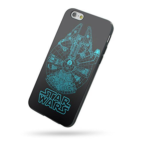 Star Wars Ship Blueprints for Iphone Case and Samsung Case (iPhone 5/5s black)