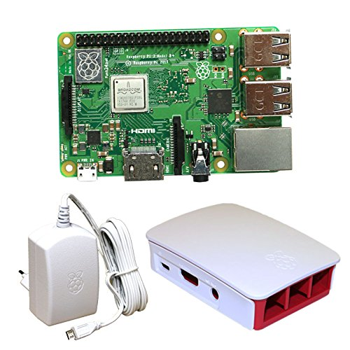 Raspberry Pi 3 Model B+ Bundle S (weiß) (B Pi Model Bundle Raspberry)