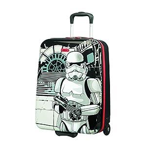 American Tourister New Wonder – Upright S Equipaje de Mano, 55 cm, 32.5 L, Multicolor (Star Wars Storm Trooper)