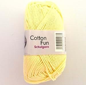 Grundl - Fil à tricoter COTTON FUN - Gründl - Jaune 22