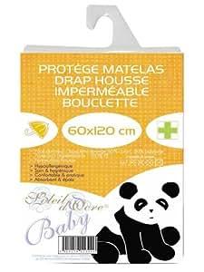 Protège matelas imperméable pour lit de bébé