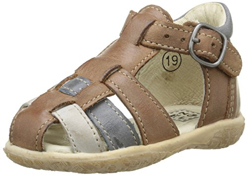 Noël Mini Taro, Chaussures Bébé marche bébé garçon Marron (5 Kraft)