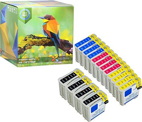 Ink Hero Paquete de 16 Cartucho HP 88 88XL C9385AE C9396AE C9391AE C9392AE C9388AE C9393AE Officejet Pro 550 K5400 K5400dtn K5400dtwn K550 K550dt K8600 L7480 L7555 L7580 L7590 L7680 L7700 L7780