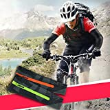 Yimosecoxiang Manche de Compression pour Homme Protection UV pour Le Cyclisme et Le Basket-Ball Orange XL XL Vert Fluorescent
