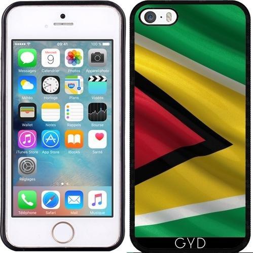 Coque pour Iphone 5c - Drapeau De Guyane by Carsten Reisinger Silicone