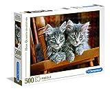 Clementoni 30545.2 - Puzzle Kollektion Kätzchen, 500 Teile