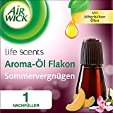 Airwick Aroma Huile de Flacon Plaisirs d'été, Recharges pour Diffuseur, 20ml