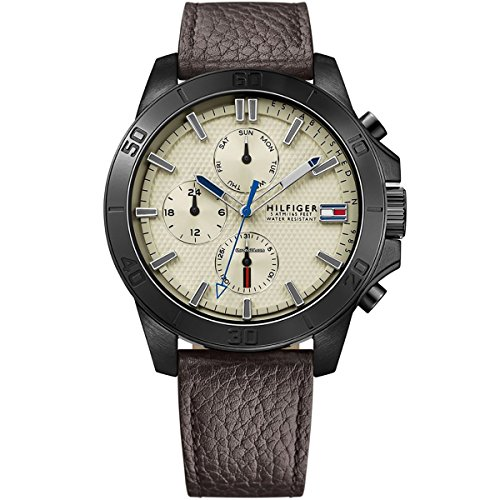Tommy-Hilfiger-Mens-Watch-Analogue-Quartz-Leather-1791164