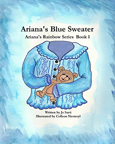 Ariana's Blue Sweater (Ariana's Rainbow Series Book 1) (English Edition) Familie Familie Kinder Sweatshirt