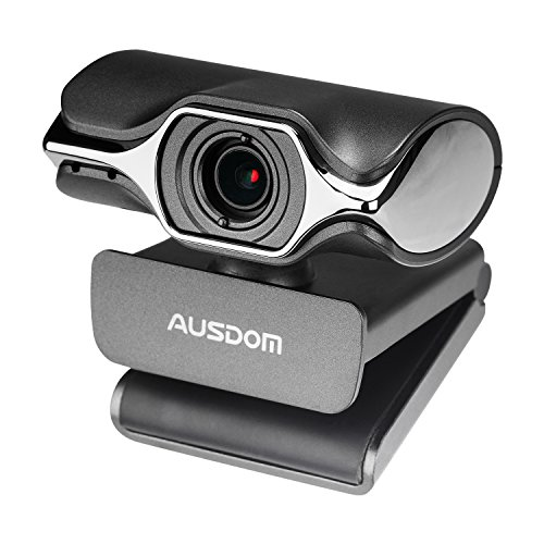 Computer Kamera, AUSDOM AW620 High Definition 1080P HD USB Webcam Netzwerk-Kamera mit Mikrofon für Skype Facetime Youtube Yahoo Messenger