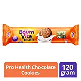 #9: Cadbury Bournvita Pro Health Vitamins Chocolate Biscuits, 120 gm Super Value Pack
