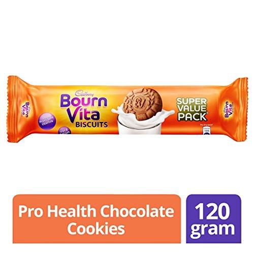 Cadbury Bournvita Pro Health Vitamins Chocolate Biscuits, 120 gm Super Value Pack 51gnxYoUKHL