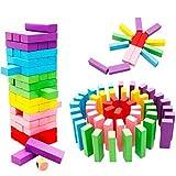 ZHAOHUIFANG Giocattolo Building Blocks Giocattolo Colore Jenga Digital Building Blocks Bambino Puzzle Giocattolo