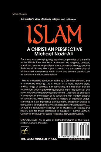 Islam: A Christian Perspective