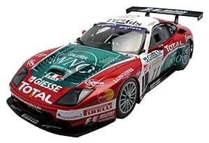 Kyosho - KYOS08393A Veicolo in miniatura, Ferrari 575 GTC GPC Spa04, scala 1:18