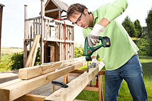 Bosch DIY Akku-Bohrhammer Uneo Maxx, Akku, Ladegerät, 2 Bohrer, 4 Bits, Koffer (18 V, 2,0 Ah, max. Bohr-Ø Stahl: 8 mm, Beton: 10 mm, Holz: 10 mm) - 6