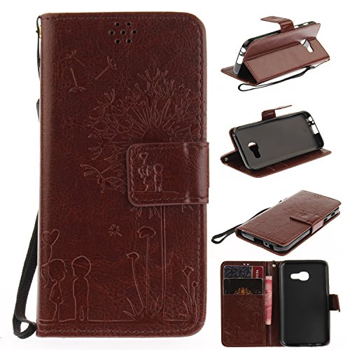 funda-samsung-galaxy-a3-2017-case-ecoway-pareja-de-dientes-de-leon-en-relieve-patron-pu-leather-cuer