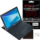 [Pack de 2] TECHGEAR Film Protecteur d'Écran ANTI-REFLET / MAT Avec Chiffon de Nettoyage et Carte d'Application pour Samsung Galaxy Book 12 Pouces