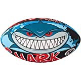 Optimum Men's Shark Attack Midi Rugby Ball