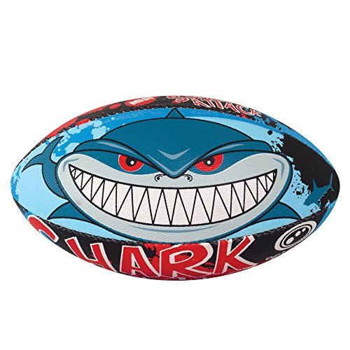 Optimum Herren Shark Attack Midi Rugby-Ball