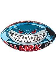 Hombre tiburón Midi pelota de Rugby, color multicolor - multicolor, tamaño talla 5