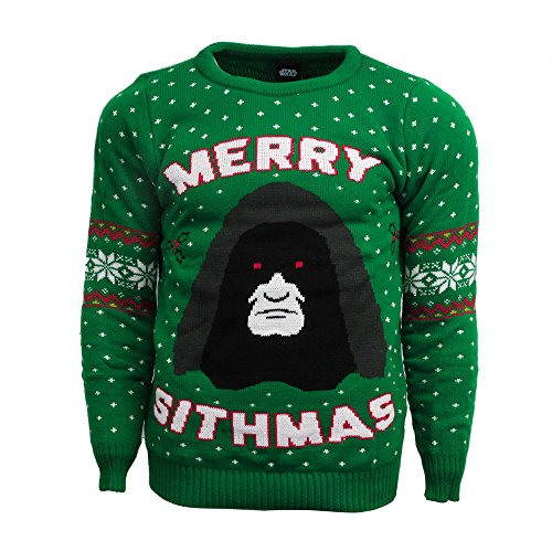 Merry Sithmas Official Star Wars Christmas Jumper / Sweater (X Small)