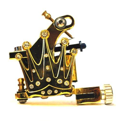 Goldene Krone Tattoo-Maschine/Tätowiermaschine (Gold Crown Tattoo Machine) ()