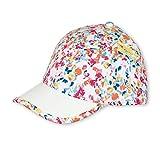 Sterntaler Baseball-Cap für Mädchen mit Größenregulierung und Blümchenmuster, Alter: ab 12-18 Monate, Größe: 49, Himbeer