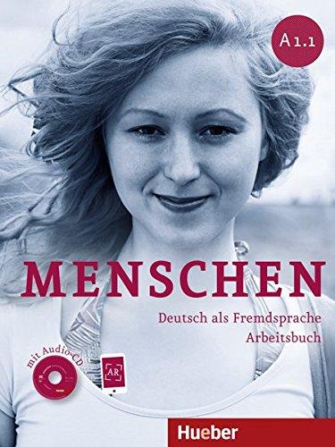 Menschen. A1. Per le Scuole superiori. Con espansione online: Menschen A1/1: Deutsch als Fremdsprache / Arbeitsbuch mit Audio-CD por Sabine Glas-Peters