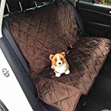 Yopin Dog Blanket car, Anti-Skid Protective Blanket, Dog and Other car Covers, Protect The car from Scratches, Dirt and contaminated pet Hair (118 * 110, Brown)