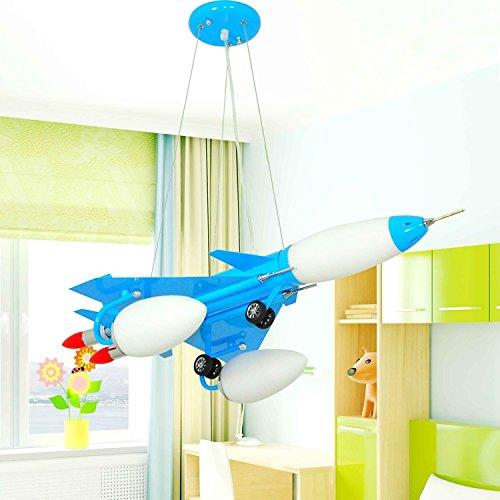 Dual-Saughöhe Flugzeug Kinderzimmerlampe Kronleuchter Kinderwagen Cartoon Jungen und Mädchen mit Schlafzimmer Deckenbeleuchtung - 3