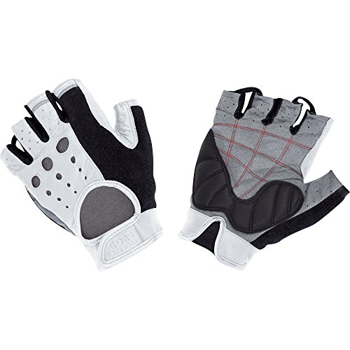 GORE BIKE WEAR RETRO TECH   GUANTES DE CICLISMO PARA HOMBRE  COLOR BLANCO  TALLA 8