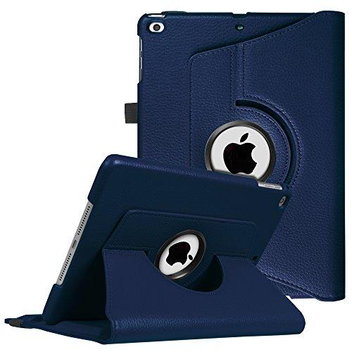 Fintie iPad 9.7 Zoll 2018 2017 / iPad Air Hülle - 360 Grad Rotierend Stand Cover Case Schutzhülle mit Auto Schlaf / Wach Funktion für Apple iPad 9,7'' 2018 2017 / iPad Air 2 / iPad Air, Marineblau