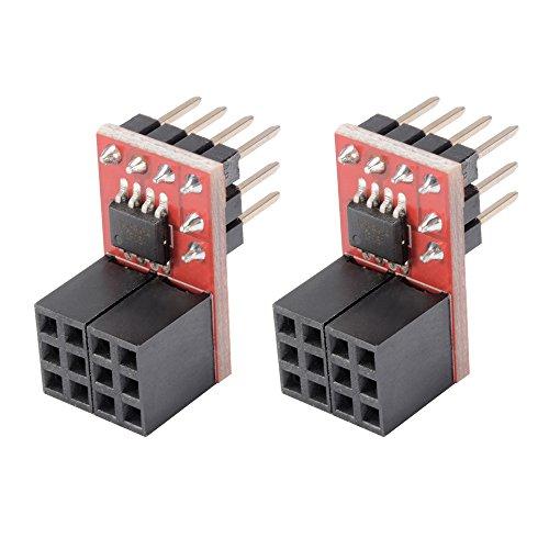 2pcs Ramps1.4 RRD Fan Extender Expansion 2 PWM Module Max 20V Development Board Accessories Parts for Dual-extursion Reprap 3D Printers -