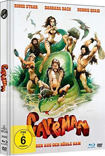 Caveman - Der aus der Höhle kam - Limited Mediabook-Edition (Blu-ray+DVD plus Booklet/HD neu abgetastet)