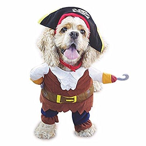 Morbuy Reizende Katzenkostüm Hunde Haustier Kleidung, HundeKostüm Hundebekleidung Kostüme Kleidung Katze lustiges Kleid cosplay (M, Farbe1 (Bier Kann Hunde Kostüm)