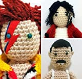 Freddie Mercury, David Bowie, Michael Jackson3 bambole