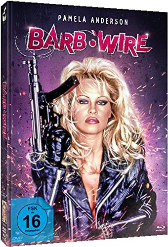 Barb Wire - Unrated - Limited Edition - Mediabook (+ DVD), Cover B [Blu-ray] - Hogan Cover