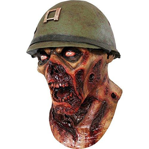 rror Soldat Maske Blut Hallowen gruselige Maske - Horror ab 18 Jahren blutüberströmt Zombie unisex Damen und Herren von TK-Gruppe (Halloween-maske Blut)