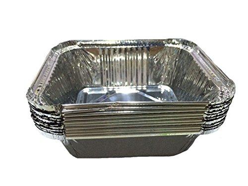 l.f.z 5,7x 5,0x 5,1cm Einweg Aluminium Auffangwannen Frischhaltedosen Bakeware Pfannen