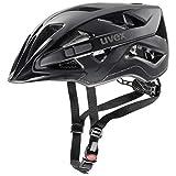 Uvex Active CC Fahrrad Helm matt schwarz 2018: Größe: 52-57cm